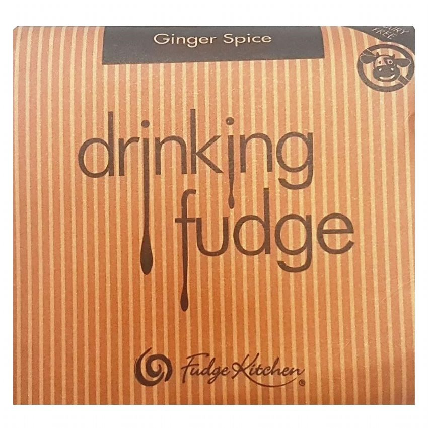 Ginger Spice - Drinking Fudge (Liquid Hot Chocolate Mix) By Fudge Kitchen